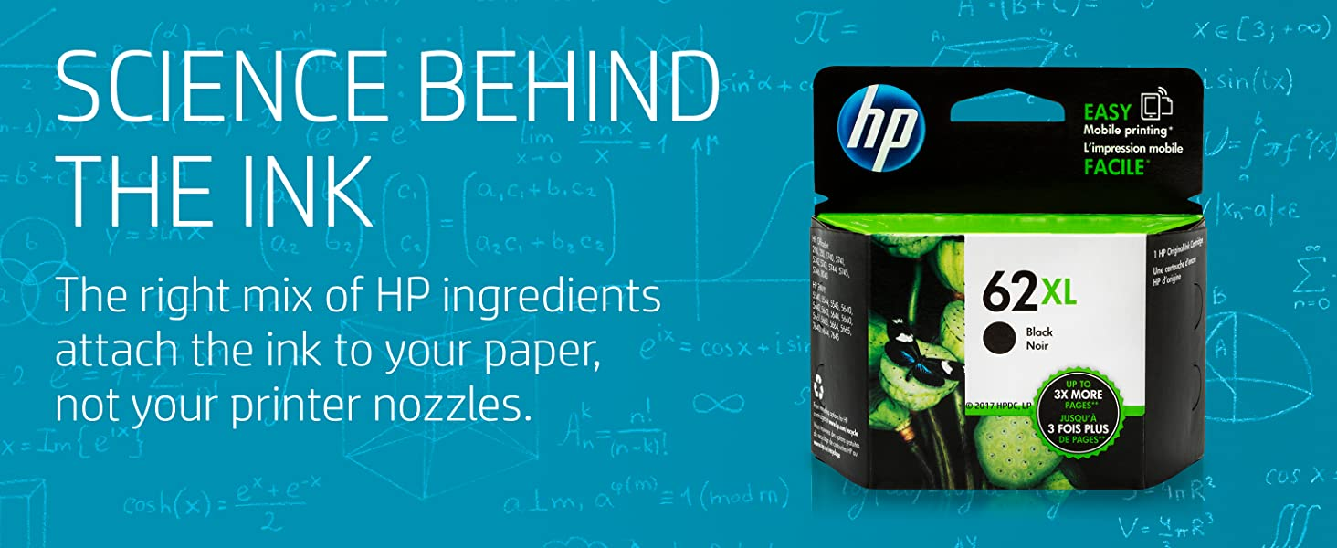The science behind ink  Designed to work  first time, every time HP manufactures high quality ink