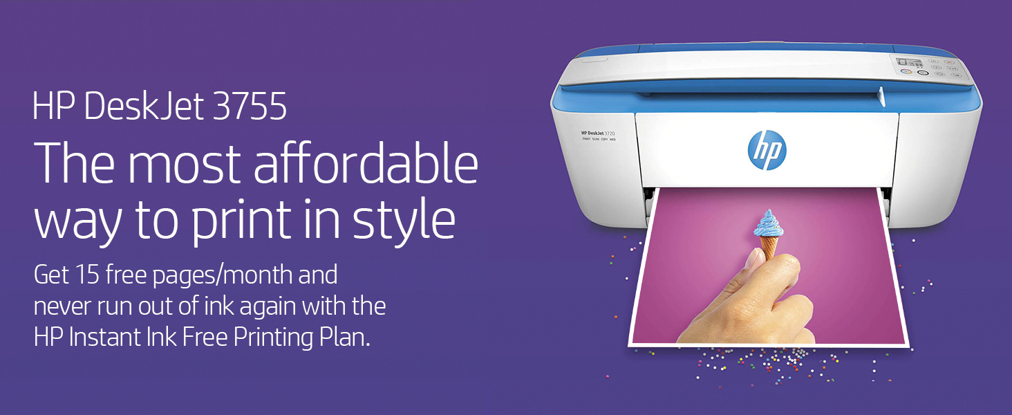 affordable style stylish free printing plan instant ink save money powerful performance home