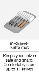 In-drawer knife mat