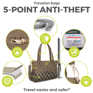 5-Point Anti-Theft Diagram