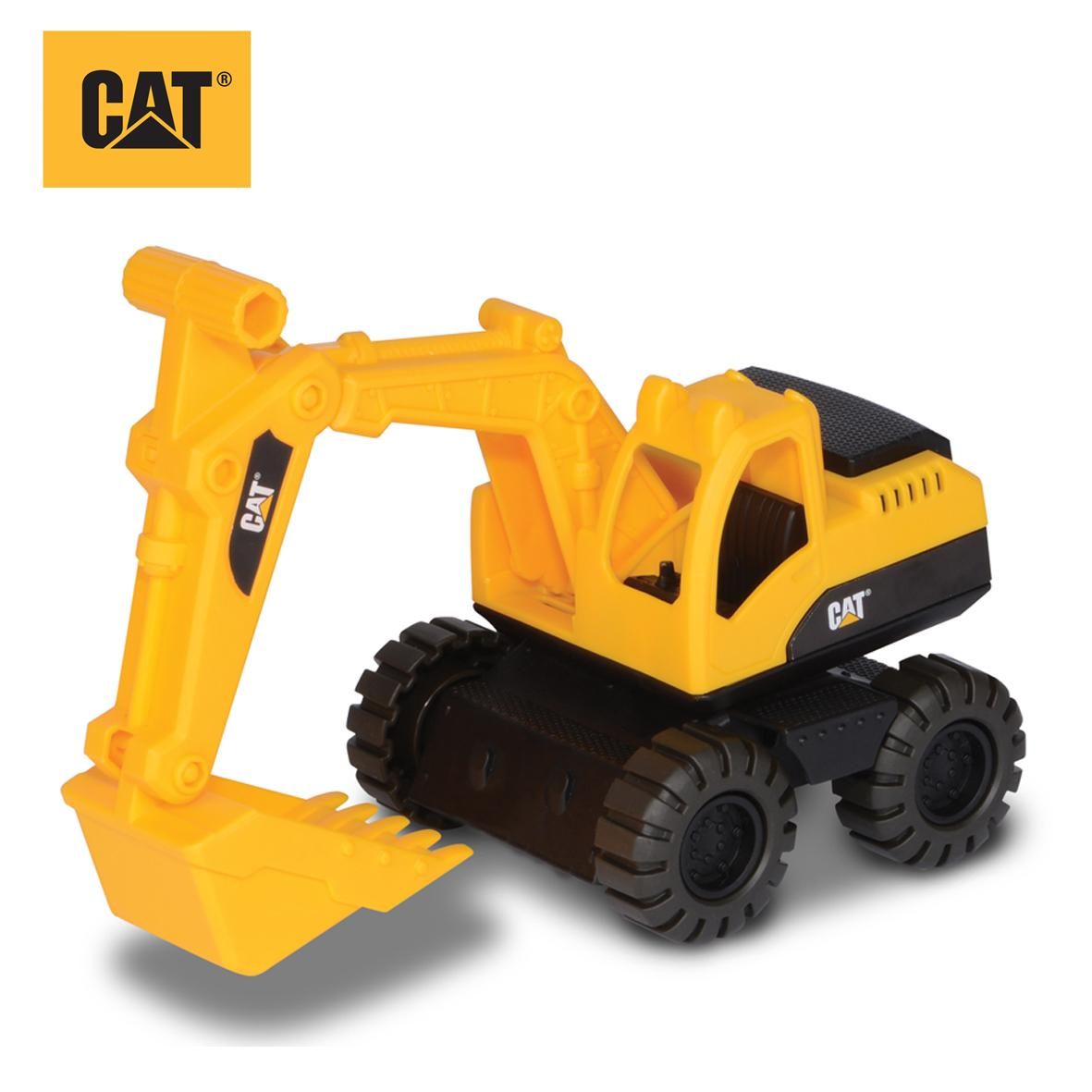 Cat Construction Toys For Toddlers : Cat construction crew excavator vehicle playset amazon