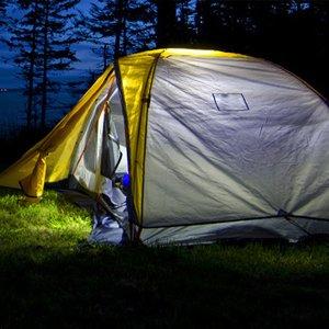 camping flashlight camping lantern LR12 nitecore