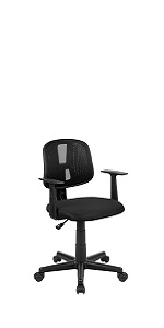 Office Chair with Pivot Back & Arms