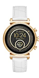 Amazon.com: Michael Kors Access Womens Sofie Heart Rate ...