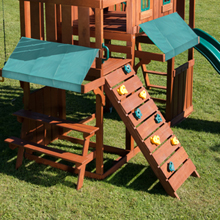 Amazon Com Winchester Wood Complete Play Set With Two Swings Slide