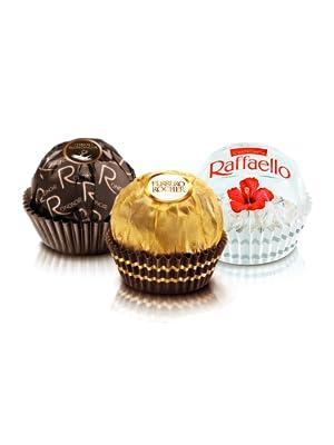 罗彻,拉斐尔,朗德诺尔,礼品,巧克力,本,盒装,椰子,黑巧克力,分类