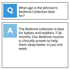 What age is Johnsons Bedtime best for?