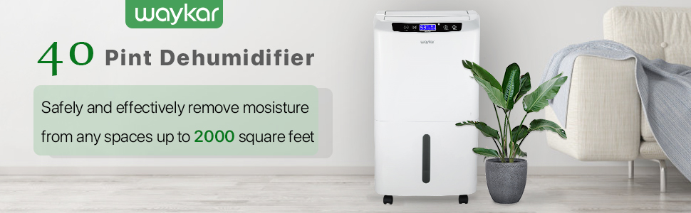 dehumidifiers for home 40 pint