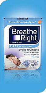 Breathe Right Original Clear