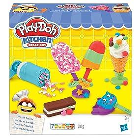 Play-Doh Helados Deliciosos (Hasbro E0042EU4): Amazon.es: Juguetes ...
