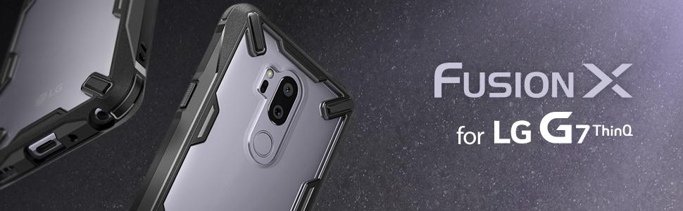 husa Ringke Fusion X pentru LG G7 ThinQ