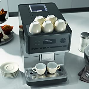 Miele Stand-Kaffeevollautomat, Kaffee, beheizbare Tassenauflage