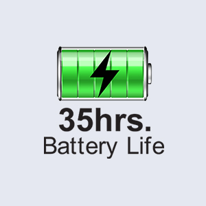 35 hours Battery life
