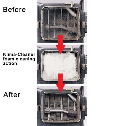 nextzett 96110515 klima cleaner air conditioner cleaner 10 fl oz automotive. Black Bedroom Furniture Sets. Home Design Ideas
