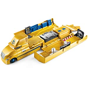 Disney Pixar Cars 3 Jackson Storm/'s Transforming Hauler lot jeu Camion