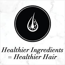 healthy ingredients, healthy hair
