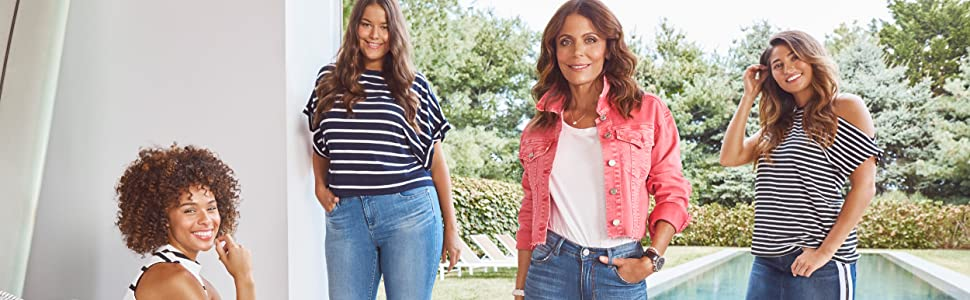 Skinnygirl jeans dynamic contemporary women all sizes inspire chic edge founder, Bethenny Frankel