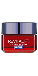 anti-ageing, anti-wrinkle, revitalift, night cream