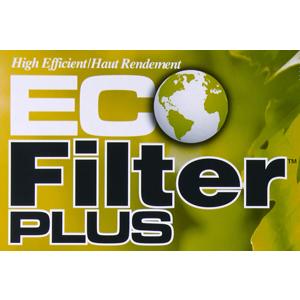 Eco Filter Plus 10 year usage lifetime warranty