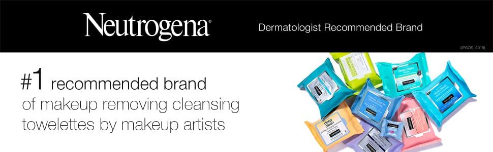 Neutrogena Cleansing Makeup Removing Wipes Product Line