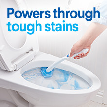 Take on toilet stains