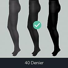 40 Denier tights