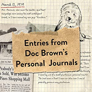 Entries from Doc Brown's Personal Journals