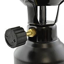 NEAN Camping de propano y butano hornillos Shisha carbón mecheros + 4 Gaskartuschen