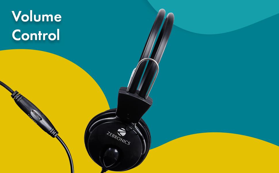 Wired Headphone, zebronics Wired Headphone, Zebronics Zeb Pleasant Wired Headphone