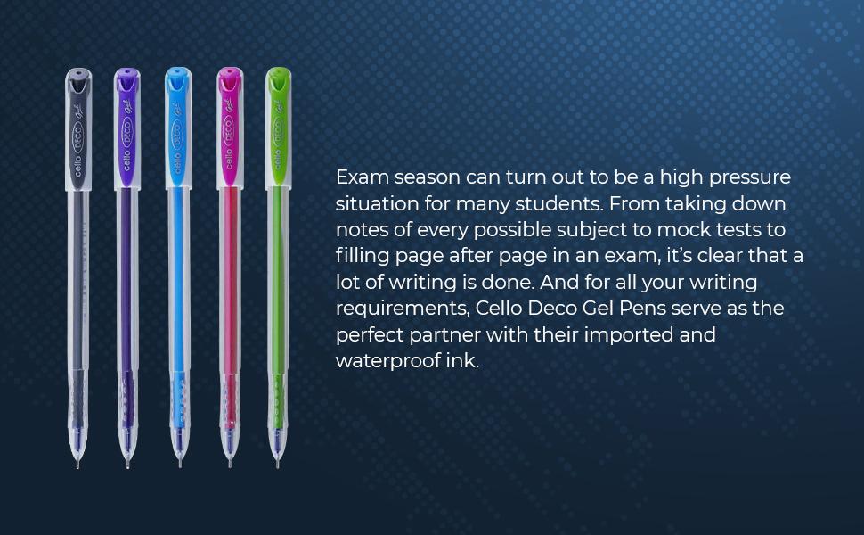 Deco Gel Pen   Gel Pens   Stationery   Pens for School   Best Gel Pens