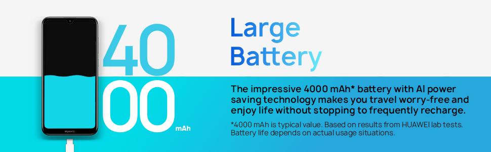 4000mah large battery