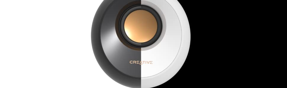 pebble;black;white;small;speaker