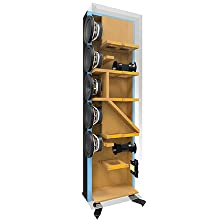 KEF Cabinets are designed to reduce unwanted sound.