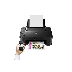 Impresora Multifuncional Canon PIXMA TS3150 Negra Wifi de