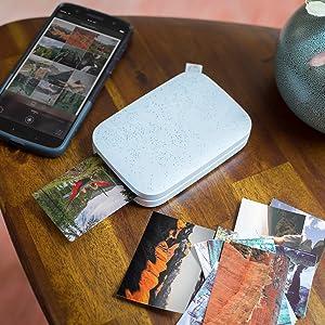 HP Sprocket 200 - Impresora fotográfica portátil (tecnología de ...