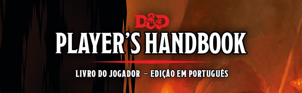Dungeons Dragons players handbook livro do jogador edição em portugues