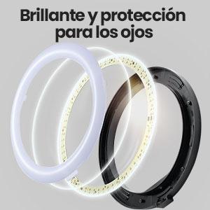 anillo de luz con tripode