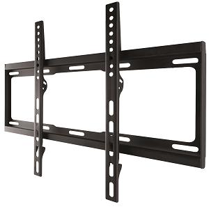 """One For All - WM2411, Soporte de pared para TV de 32 a 55"""", fijo, peso máx. 100kg, para todo tipo de TVs (LED, LCD y plasma), negro: Amazon.es: Electrónica"""