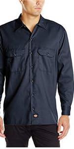 work shirt, stretch shirt, mechanic shirt, uniform shirt, Carhartt, Wrangler, Volcom, 511 Tactical