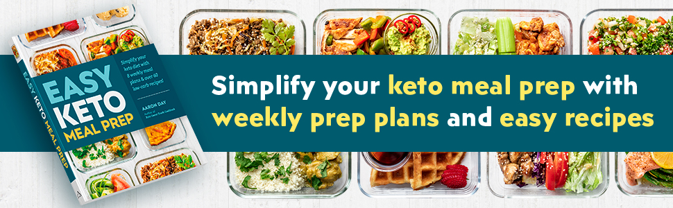 Simplify your keto meal prep with weekly prep plans and easy recipes.