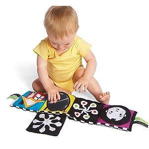 toy for 0 months, toys for 3 months, toys for 6 months, interactive baby book, children teaching toy