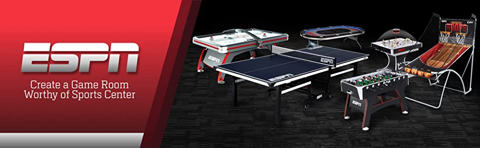 safety ESPN Arcade Foosball Table - Available in Multiple Styles ...