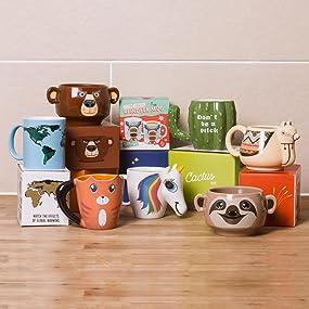 animal;animaux;mugs;cup;tasse;cuisine;family;collection;creative;cadeau;multicolore