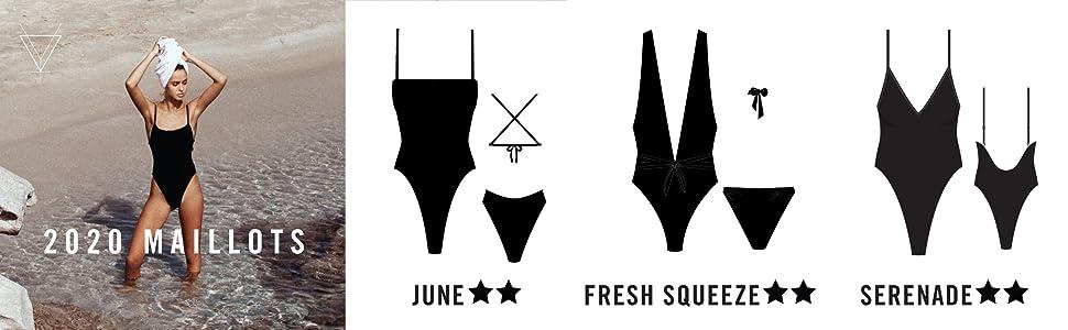 womens swimwear, one piece, square neck, low back,v neck, plunge neck, high leg, coverage, skimpy