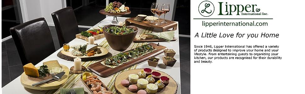 lipper wooden bowls,lipper wood trays, lipper coasters, lipper serving, lipper platters, salad