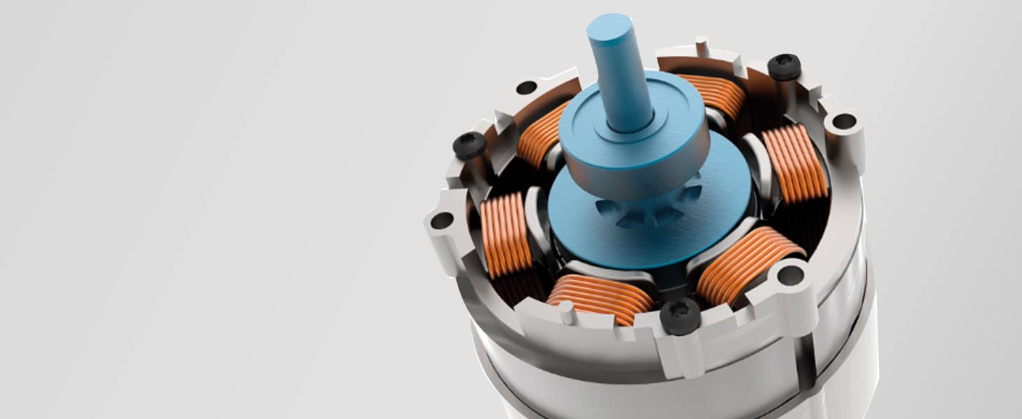 High-Efficiency, Brushless Motor