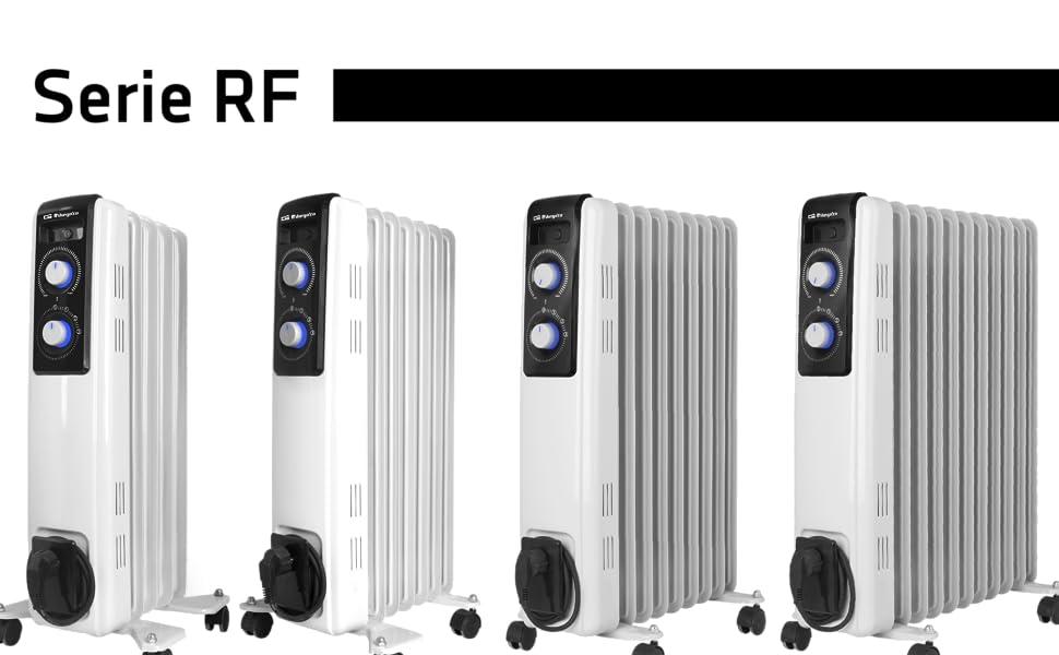 Orbegozo RF 2500, Radiador de Aceite, Construcción Modular de 11 ...