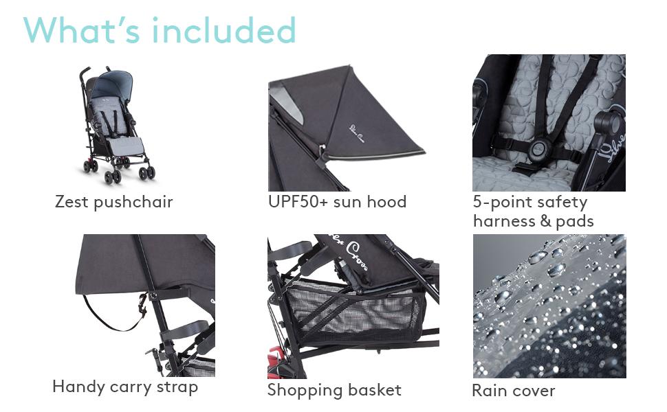 Hand luggage cabin friendly baby pushchair birth compact travel stroller lightweight stroller buggy