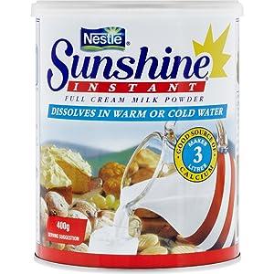 sunshine, instant, milk, powder, full cream, nestle