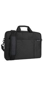 Acer Notebook Traveller Tasche , mit Fronttasche schwarz 15,6 Zoll 39,6 cm